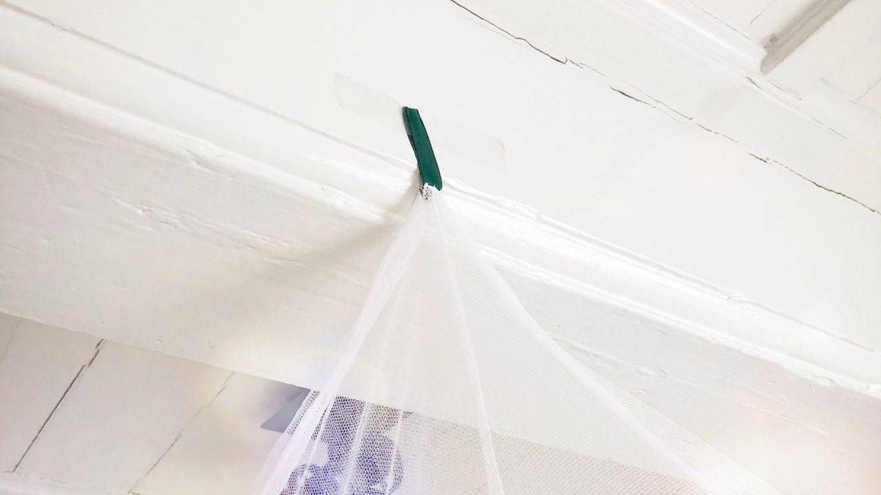 GlisGlis Mosquito net installation GlisGlis Moskitonetz